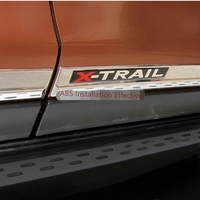 For Nissan X Trail Xtrail 2014 2015 2016 Car Styling Cover Detector ABS Chrome Side Door