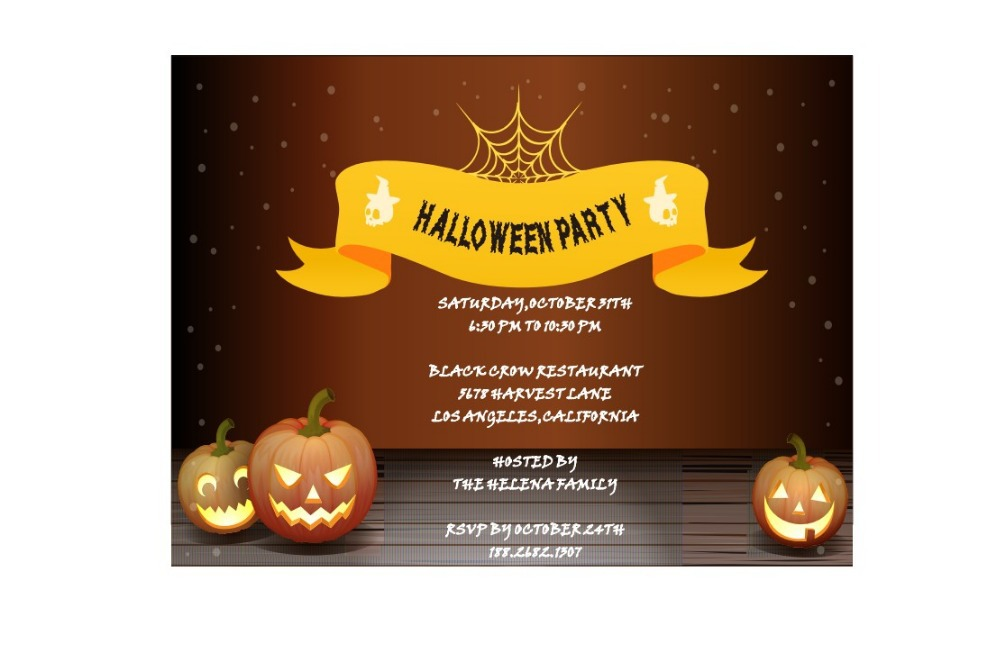 Buy halloween party invitations and get free shipping on AliExpress.com