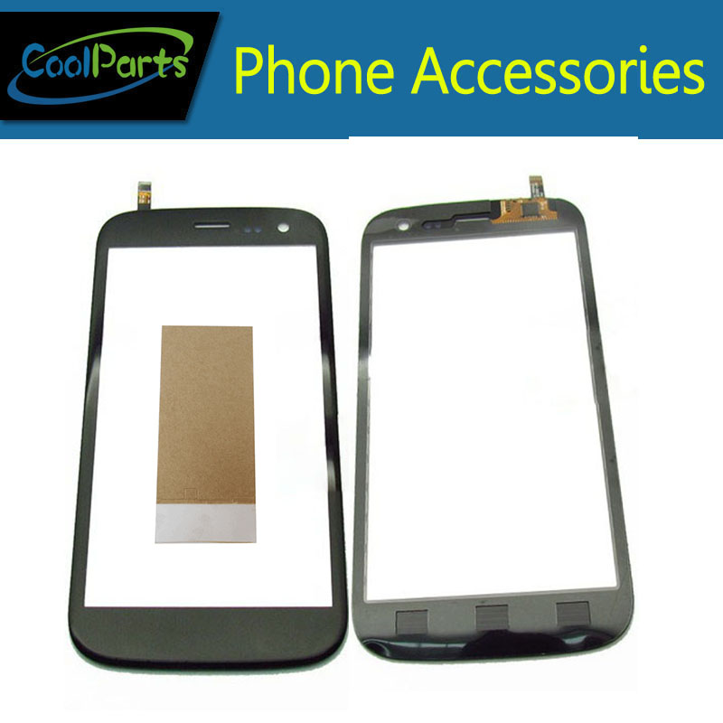 1PC/Lot For Explay X Tremer X-Tremer Touch Screen Digitizer Touch Panel Lens Glass With Tape Black White Color