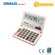 OSALO OS-556VC Colorful Folding Electronic Calculator with Big Display Digital Desktop School Calculadora Stationery Office Tool