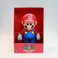 23 см плюшевые Марио брат игры Луиджи Йоши одна часть фигуры Действие игрушки ПВХ Super Mario Bros 7 Модель Детская Коллекция