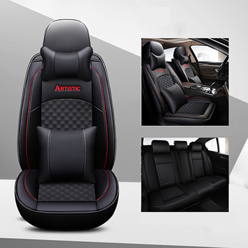 BMW 4 SERIES COUPE F32 2013/> HEAVY DUTY WATERPROOF BLACK SEAT COVERS 1+1