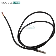 1m 100CM Digital Temperature Temp Sensor Probe DS18B20 Thermometer Waterproof Sensor For Arduino Compatible Stainless Steel(China (Mainland))