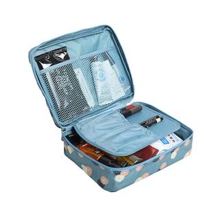 Image 3 - Travel Lady Drawer Makeup Cosmetic Organizer Storage Box Container Nail Coffin Holder Desktop Sundries Organizador Porta Joias