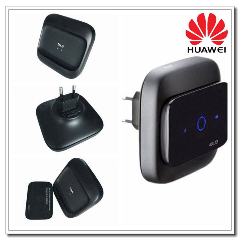 Unlocked HUAWEI E5575S 210 lTE 4G FDD 1800 2600MHZ TDD 2600MHZ Wireless Charging 150mbps Mobile Hotspot