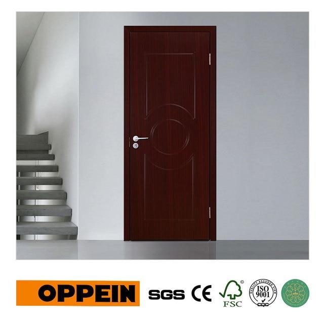 Moderne Qualität Einzelne Tür Mdf innentür mit PVC Finish P605 in ...