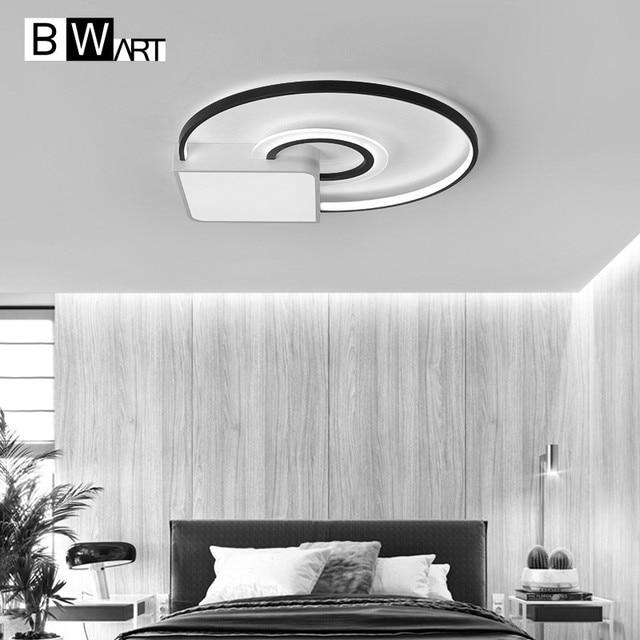 BWART Modern Minimalism LED Chandelier For dining living room bedroom Study Home Remote Creative Ceiling Chandelier lighting