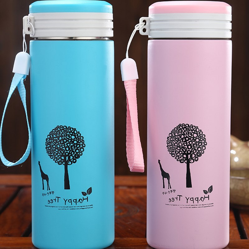 500ML Thermos cup Thermos Mug Vacuum Cup  Stainless Steel insulated Mug Thermal Bottle Thermoses vacuum flask water bottle Термос