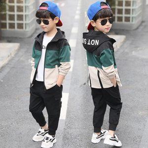 Image 5 - Комплект повседневной одежды для мальчиков, кофта с капюшоном + штаны, 4, 6, 8, 10, 12, 14, 15 лет, 2019