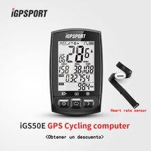 IGPSPORT GPS iGS50E komputer rowerowy wodoodporny IPX7 ANT + bezprzewodowy prędkościomierz rowerowy stoper cyfrowy rowerowy licznik odległości