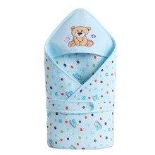 WENDYWU/детские хлопчатобумажные крупного рогатого скота спальный мешок конверт для новорожденных спальные принадлежности из мультфильма спальный конверт для малышей пеленка