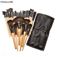 FOCALLURE 32Pcs Makeup Brushes Professional Cosmetics Make Up Brush Set The Best Quality Pincel Maquiagem