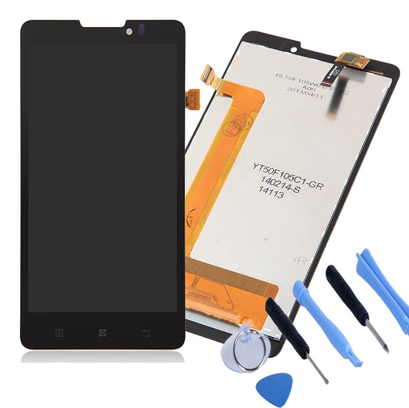 HK Free Shipping For Lenovo P780 LCD Screen With Touch Screen Digitizer Assembly with Repair Tools