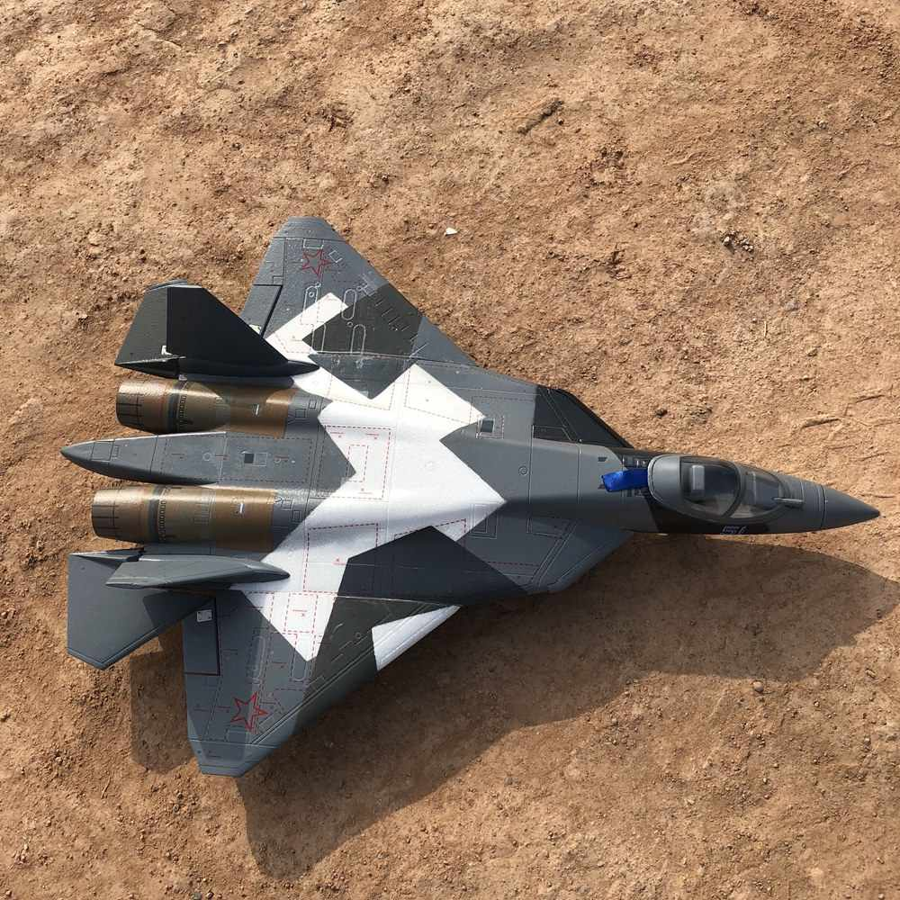 Dual 50mm EDF toy rc plane T50 T-50 EDF jet model EPO PNP Standard