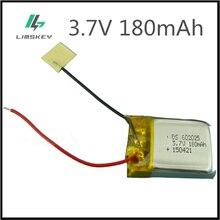 Bateria para Helicóptero de Controle 2 Pcs 3.7 V 180 Mah Lipo Remoto Acessórios de Bateria Li-po 1 S 602025