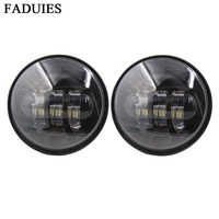 Vender FADUIES negro 4,5 pulgadas proyector LED lámparas auxiliares 4-1/2 30 W LED luz auxiliar niebla para de la motocicleta