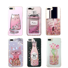 Bling Glitter Liquid Quicksand Cases For all iPhones