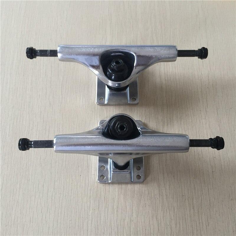 """Skateboard Trucks 5.5"""" Light Weight Trucks Skate Aluminum Skate Board Trucks Caminhao Do Skate-in Skate Board from Sports & Entertainment"""