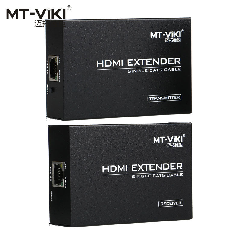 MT-VIKI 100m 330ft HDMI Long Distance Extender over CAT RJ45 LAN Cable 1.4 Extension Repeater MT-ED06 support ir remote control mt viki 100m 330ft hdmi extender repeater over cat lan cable hdmi1 3 hdmi1 4b extension mt ed06 ir