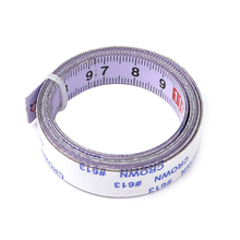 лучшая цена Miter Track Tape Measure Steel Self Adhesive Ruler Miter Saw Scale for T-track Used for Workbenches Saw Tables Machinery