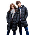 2017 New Winter Korean Thick Padded Men's Jacket Coat Male Padded Jacket Cotton Down Lover Parkas Jacket Unisex Coat 75wy