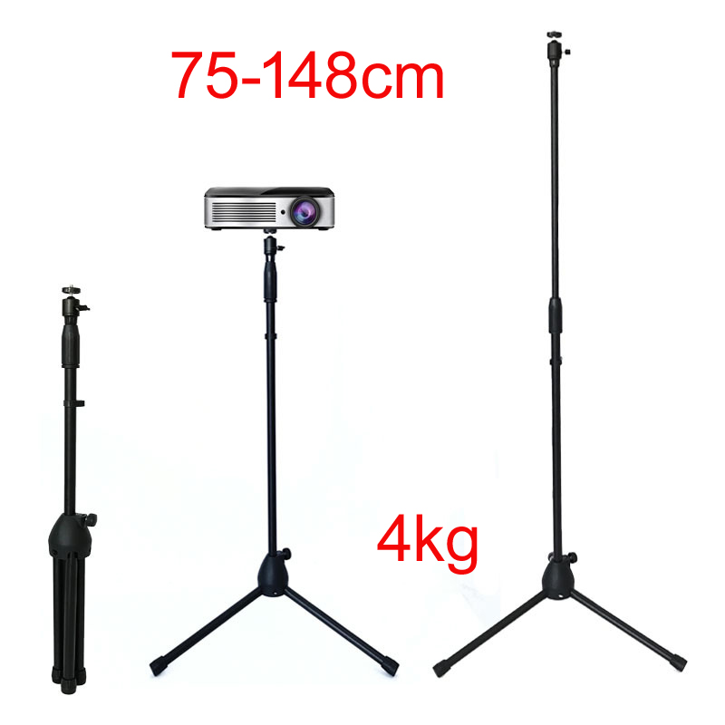 PS10 75cm-148cm Adjustable 360 Rotate Mini Projector Tripod Stand Bracket DVD Player Floor Holder Laptop Stand Speaker Stand