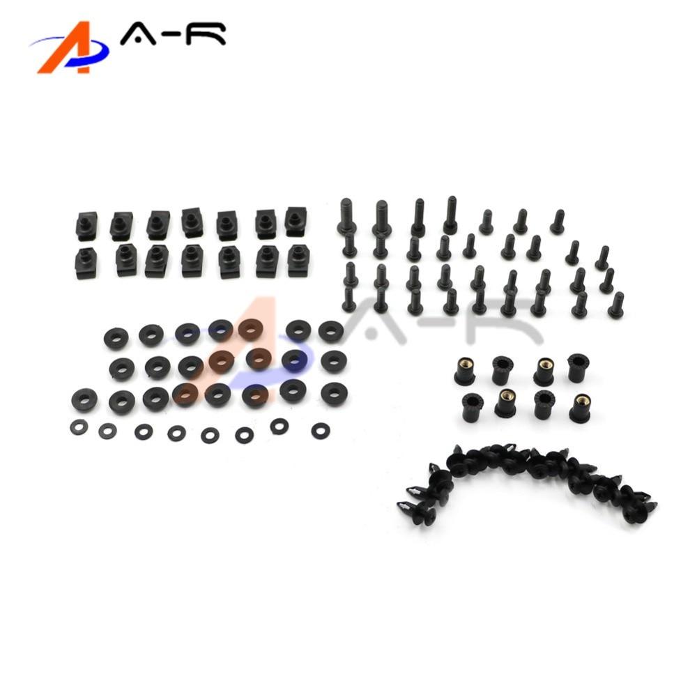 Fairing bolts For HONDA Blackbird CBR1100XX CBR1100 CBR 1100 1100XX 1996-2007 Body Fairing Bolt Screw Fastener Fixation Kit