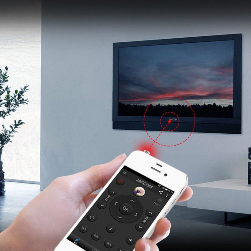 Smart IR Remote Control With Bottom Light For Iphone/Touch Portable Mini Pocket Mobile Phone For Air Conditioner TV DVD A5