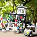 Series Policía Kazi Comisaría Building Block Sets 631 unids Enlighten educación de BRICOLAJE Construcción de Ladrillo juguetes No. 6725