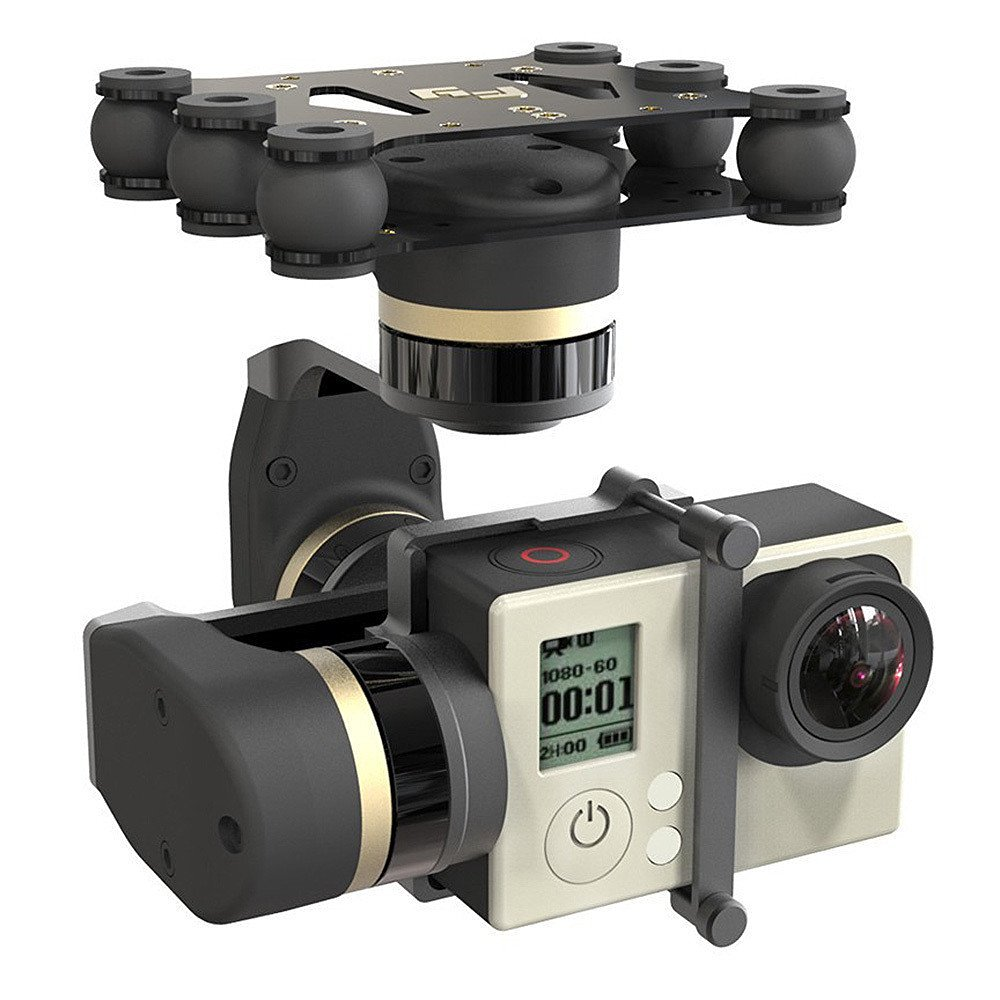 Feiyu FY Mini 3D 3 Axis CNC Brushless Gimbal Stabilizers Steady for Camera Gopro