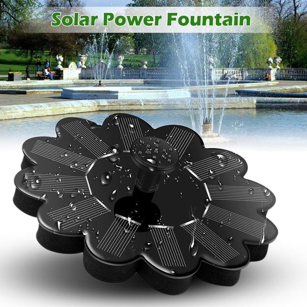 Garden Fountain Solar Water