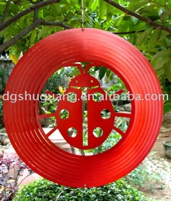 Wholesale:wind spinner-ladybug