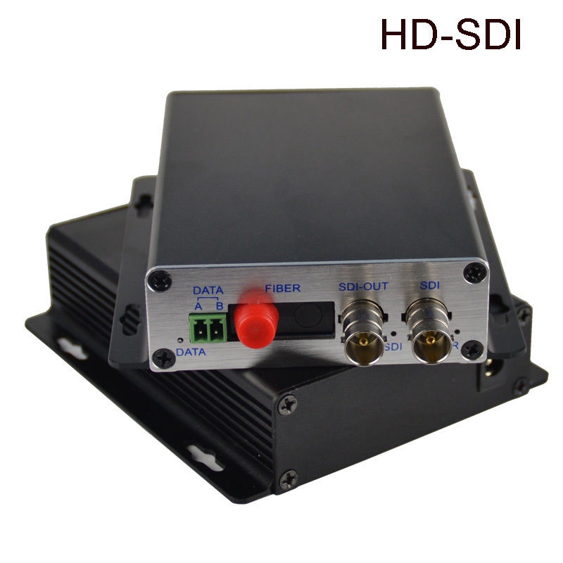 HD-SDI SDI Video Fiber Optical Media Converters,FC Singlemode up 20Km