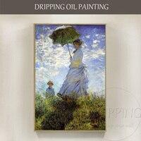 Репродукции Ван Гога Книги по искусству живопись дама с зонтиком картина маслом на холсте впечатление леди Портрет маслом для стен Книги по
