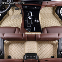 CHOWTOTO AA Custom Special Floor Mats For Cadillac CTS 4 Doors Durable Waterproof Carpets For CTS 4doors Model