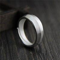 Sterling Silber schmuck handgemachte silber personalisierte ring paare silber ringe für männer und frauen (USA Größe)