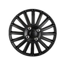 14″ Car Wheel Trims Hub Caps Plastic Covers Universal Matte Black