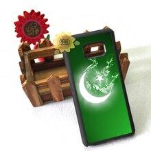 flag pakistan silicone edge mobile phone case for samsung s6 edge plus s7 edge s8 s9 s10 plus lite e note8 note9 cover case