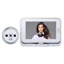 Сменный 10500 мАч 3 батареи Smart беспроводной дверной глазок камеры Запись видео дверь домофон