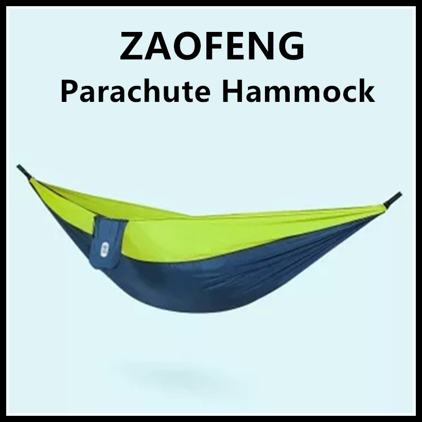 Smart Electronics Friendly Xiaomi Mijia Zaofeng Hammock Swing Bed 1-2person Parachute Hammocks Max Load 300kg For Outdoor Camping Swings Parachute Cloth Consumer Electronics