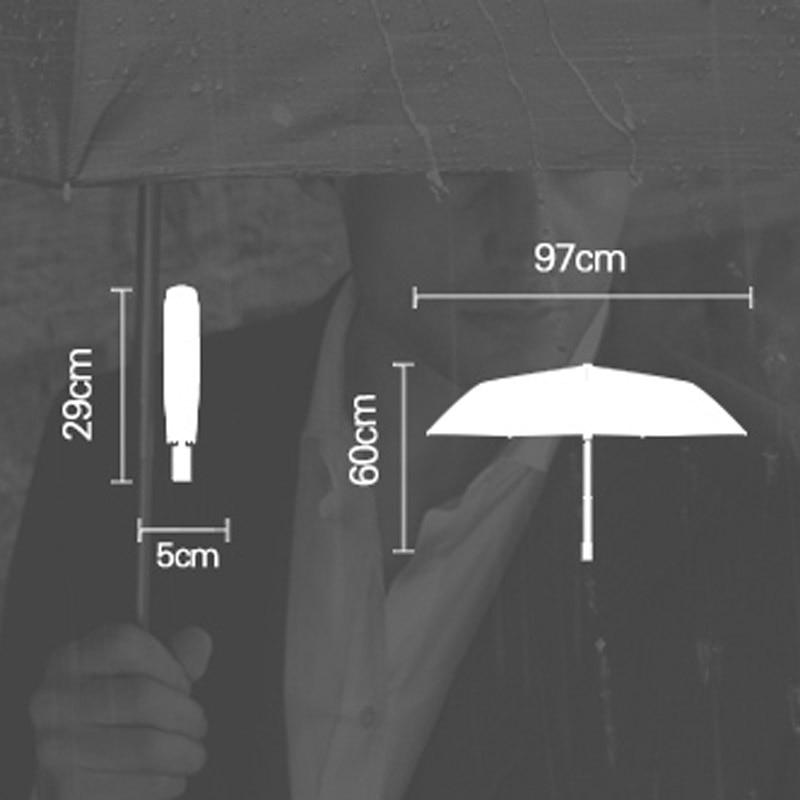 3 taitettava sateenvarjo naisten sade anti-UV-suojan ja sateenvarjo - Kotitaloustavarat - Valokuva 6