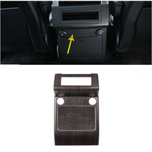 цена на Oak Wood Grain Rear Row Air Conditioning Vent Outlet Cover Trim For Land Rover Discovery 5 S/SE LR5 2017-2018 Car Accessories