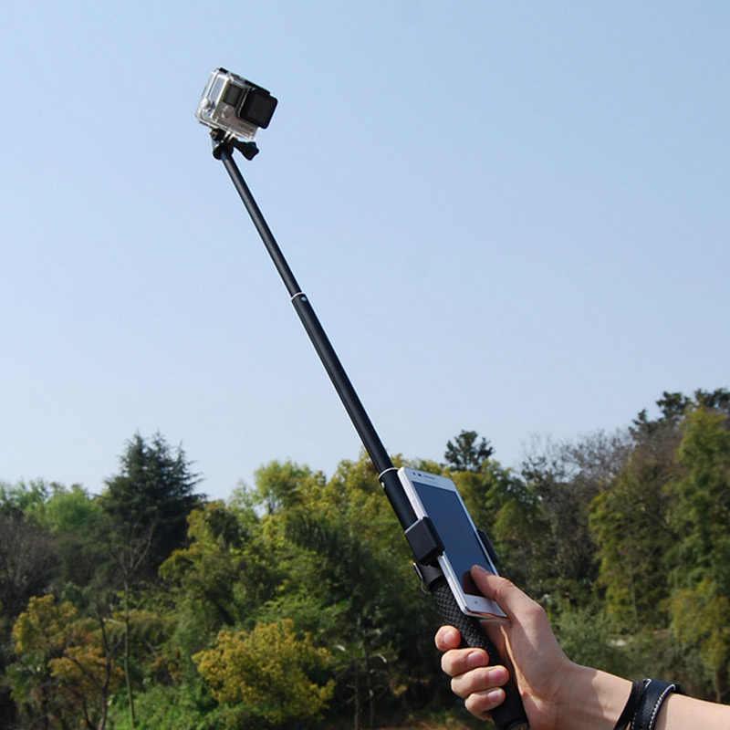 Monopod do telefonu złap klips zatrzask do Gopro Hero 5/4/3 + Xiaomi Yi selfie akcesoria do kamer w ruchu IJS998