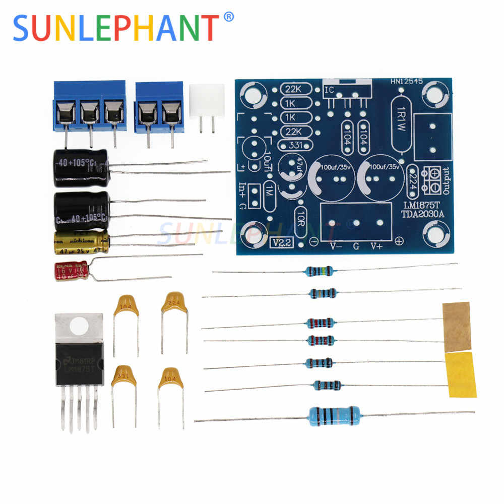Detail Feedback Questions About 20w Hifi Lm1875t Mono Channel To Stereo Circuit Audio Amplifier Board Module Diy Kits Integrated