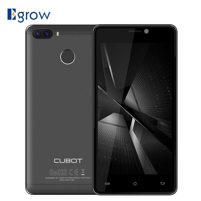 Оригинал Cubot H3 MT6737 Смартфон Android 7.0 5.0 дюймов мобильного телефона 3G Оперативная память 32 г Встроенная память двойной назад Камера 6000 мАч 4 г LTE ...