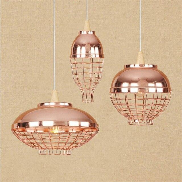 American Loft Style Iron Droplight Industrial Vintage LED Pendant ...