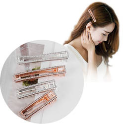 1 шт. элегантные хрустальные заколки для волос головные уборы для женщин для девочек Стразы заколки для волос заколка модные Инструменты