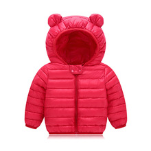 VTOM Winter New Baby Coats Jackets Infant Snow Wear Baby Girls Boys  Hooded Warm Clothes With Quality Assurance YZ02-2 цена 2017