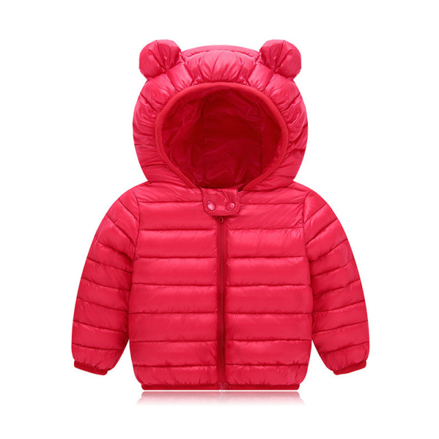 VTOM Winter New Baby Coats Jackets Infant Snow Wear Baby Girls Boys  Hooded Warm Clothes With Quality Assurance YZ02-2