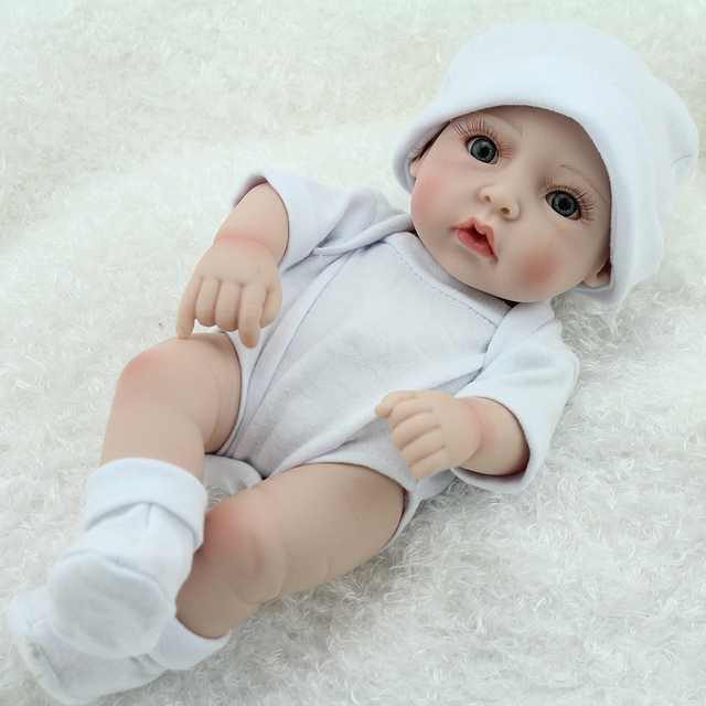 10 inch 25cm Silicone Reborn Dolls Baby Alive Handmade